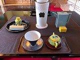 煎茶道 黄檗売茶流~立礼~の教室風景・作品