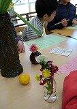 小学生の親子俳句教室の教室風景・作品