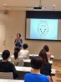表情筋トレ-ニング1日講座の教室風景・作品