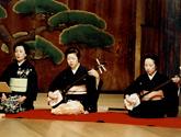 長唄・三味線の教室風景・作品