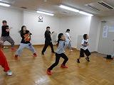 ストリートダンス(業務提携:B-TRIBE)の教室風景・作品