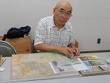 日本画IIの教室風景・作品