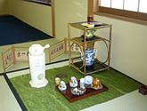 煎茶道方円流の教室風景・作品