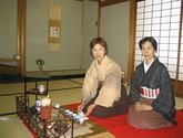 煎茶・宝山流の教室風景・作品