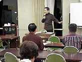 武部宏の司会者講座の教室風景・作品