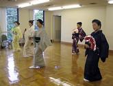 日本舞踊(古典舞踊、歌謡舞踊)の教室風景・作品