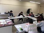 韓国語講座の教室風景・作品