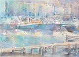 淺田ようこの透明感を活かす水彩画教室の教室風景・作品